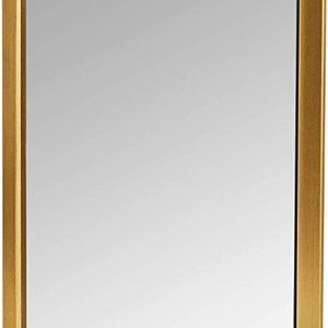 "AmazonBasics Rectangular Wall Mirror 16"" x 20"" - P"
